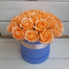 Композиция из мыльных роз МР-012