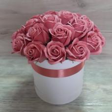 Композиция из мыльных роз МР-022
