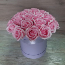 Композиция из мыльных роз МР-021