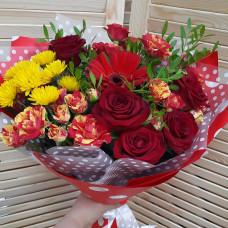 Букет из цветов СВ-215